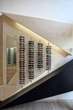 Optical Store,© Ioanna Roufopoulou and Simos Vamvakidis