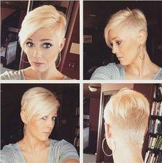 13x Super Schöne Rasierte Frisuren Des Augenblicks! - kurzhaarfrisuren Frauen