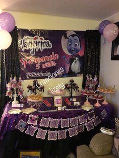 Vampirina candy bar Creaciones Lizety