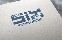 """Graphic Design Contest Entry #10 for Design a Logo for """"The Six Shop"""" IT Services"""