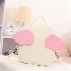 Cute wings casual backpack Cute Kawaii Harajuku Fashion Clothing & Accessories Website.  Sponsorship Review & Affiliate Program opening!