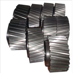 We offer a wide assortment of Helical Gears that includes Double helical gears, Cross helical gears and Herringbone gears. These gears are fitted with international quality standard features. The cost effective and hardwearing gears find applications in automotive industry blowers, feeders, mining industry, mixers and agitators.  For Quick Enquiry : http://www.transmissiongearbox.com/contact-us.php