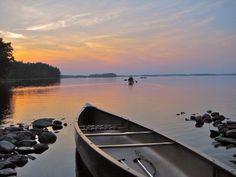 Camping and canoeing at Kejimkujik National Park