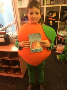 James and the giant peach book week costume