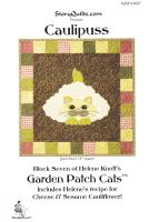 Garden Patch Cats, collection of quilt patterns by Helene Knott