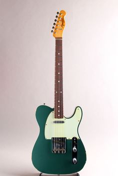 FENDER CUSTOM SHOP[フェンダーカスタムショップ] 60s Telecaster Relic Faded Sherwood Green 2013|詳細写真