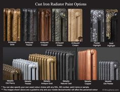The Montpellier Cast Iron Radiator - Broughtons of Leicester Ltd