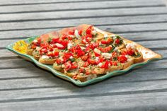 "Tomato Basil Bruschetta - recipe courtesy of ""A Taste of Glynn"" cookbook.  www.elegantislandliving.net"