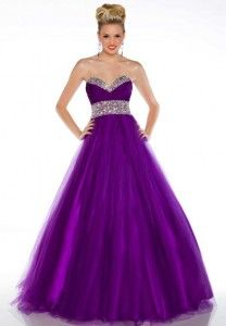 Cute Purple dress with bling ~ great for Sweet 16!