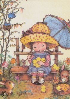 les meli melo de mamietitine - Page 40 Holly Hobbie, Illustration Mignonne, Cute Illustration, Vintage Cards, Vintage Postcards, Cute Images, Cute Pictures, Sarah Key, Art Mignon