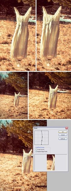Make anything look thinner by using the Shear filter. | 21 Incredibly Simple Photoshop Hacks Everyone Should Know