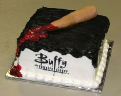 Buffy the Vampire Slayer By Crimsicle on CakeCentral.com