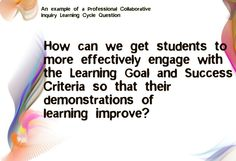 Educational Quotation Implementing InquiryBased Learning