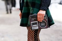 Best Street Style Shoes and Bags NY Fashion Week Fall 2014 ----  Get Up Close With Street Style's Best Accessories >>> In any form, the camera is a must-have accessory at Fashion Week.