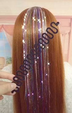 Feature: Material: Resin Color: Black Weight: Package Content: Hair tool Notes: Due to manual measurements, please allow slight measur Girl Hairstyles, Braided Hairstyles, Hairstyles Videos, Casual Hairstyles, Medium Hairstyles, Wedding Hairstyles, Curly Hair Styles, Natural Hair Styles, Natural Beauty