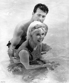 Doris Day and James Garner . Move Over Darling Golden Age Of Hollywood, Classic Hollywood, Old Hollywood, James Gardner, Doris Day Movies, Pet Organization, Rock Hudson, Animal Activist, Old Movie Stars