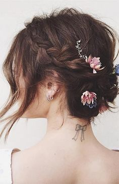Wedding hair inspo for shorter hair – Pretty plaits