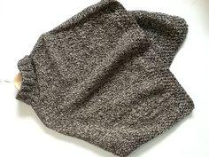 Tejido a palillo con lana natural doble hebra