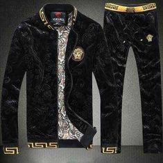 tracksuits manufacturers on sale at reasonable prices, buy Mens Velour Tracksuit Slim Tracksuit Brand Zipper Cardigan Hoodies Jacket+Pants Embroidered sport suit men Mens Velour Tracksuit from mobile site on Aliexpress Now! Mens Velour Tracksuit, Versace Tracksuit, Tracksuit Jacket, Gucci Sweat Suit, Mens Sweat Suits, Versace T-shirt, Versace Suits, Cheap Tracksuits, Versace Sweater