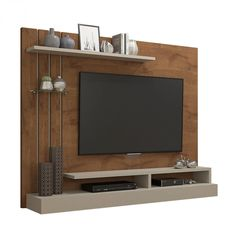 Tvs, Black Entertainment Centers, Valencia, Tv Unit Decor, Living Room Tv Unit Designs, Wall Mounted Tv, Tv Cabinets, Interior Decorating, House Design