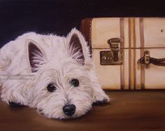 Vintage Dog Art | ... paintings i am hoping to enter into the upcoming art show at the dog