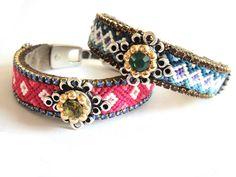 Friendship bracelet bangle - Bohemian