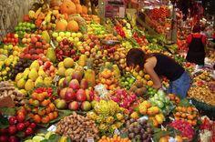 Love outdoor food markets..