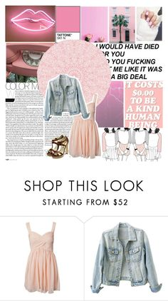 """legally blonde"" by glamourrchick ❤ liked on Polyvore featuring Oneness and Rupert Sanderson"