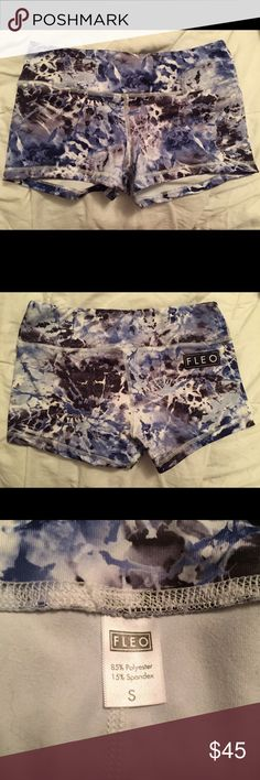 Fleo Electric Voodoo Shorts Size Small ON HOLD I bought these but they are too small! I need a medium! They were worn once to try on they are restocked on the Fleo website for $44.95 plus shipping. Accepting reasonable offers, nothing under 40$ The last photo is proof of what I paid for these, so this is a great deal! They're great workout shorts, I have another medium pair that fits and they are AWESOME. Good for anything, for example crossfit, running, weightlifting and more. Hope someone…
