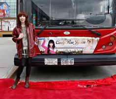 Can we hitch a ride, maybe? Gray Line New York inducts Carly Rae Jepsen into its Ride of Fame on Feb. 25 in New York