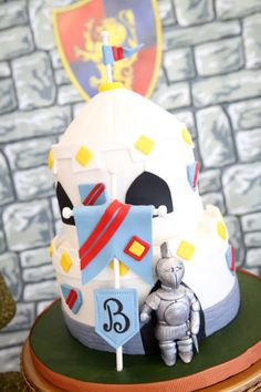 Castle Cake {Knight Party}