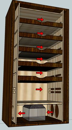 Image result for cigar humidor design plans