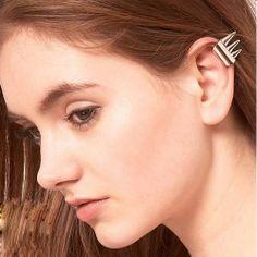Popular brief rivet punk clip earrings ear cuff