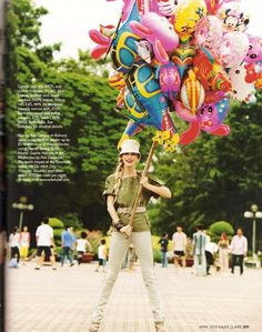 Kate Moss on Vogue: Good morning Vietnam  #Idonotownthispic#