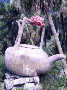 Amazing teapot we came across in a park in China!