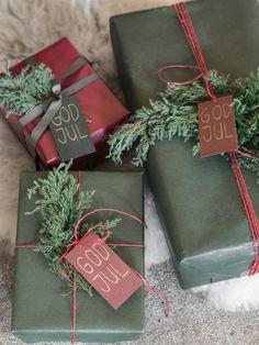 Noël traditionnel en vert et rouge (et une idée astucieuse!) - PLANETE DECO a homes world