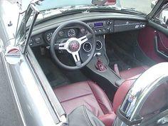 MGB custom interior