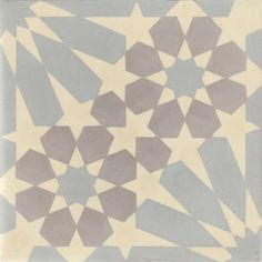 Moroccan Encaustic Cement Pattern Pre Sealed Have asked if it is suitable for bathroom floor. Islamic Patterns, Tile Patterns, Geometric Patterns, Tile Care, Moroccan Pattern, Encaustic Tile, Wet Rooms, Deco Furniture, Painted Floors