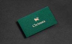 Visual identity and stationery for Chrimata designed by Anagrama.