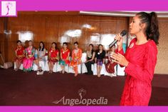 Miss Nepal 2015 contestants during Berger Miss Talent 2015 subtitile rehearsal