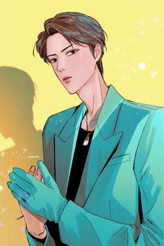 Exo Fan Art, Sehun, Chibi, Joker, Artist, Fictional Characters, Fanart, Kpop, Drawings