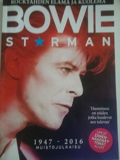 NEW SPRING 2016...GREAT Special MAGAZINE MUSICAN Star David BOWIE. 20.4.2016 Buy When See Shop earlir...ENJOY&LoVe. RECOMMENDED. SEE U. SMILE.