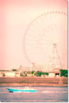 東京湾の風景