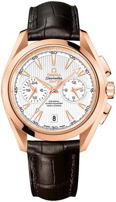 Omega Aqua Terra 150m Co-Axial GMT Chronograph 43mm