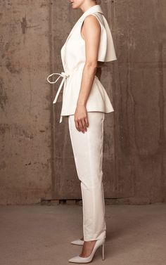 Safari Vest by Rosie Assoulin for Preorder on Moda Operandi