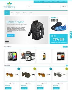 Beauty Store Magento Template | magento template | Pinterest
