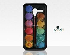 Motorola Moto X Case - Watercolor Palette