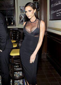 Victoria Beckham, vestida de sí misma.