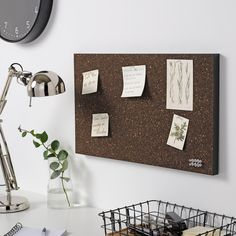 SVENSÅS cork dark brown, Memo board with pins. Do you also have trouble keeping track of notes and paper? Then a memo board can be a perfect solution. Display things not to be forgotten ― and photos and other things that you always want to remember. Cork Board Ideas For Bedroom, Diy Cork Board, Diy Memo Board, Cork Boards, Memo Boards, Polaroid Display, Polaroid Wall, Hipster Bedroom Decor, Packaging