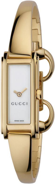 02faf551a65 Gucci 109 G-Line Collection Womens Quartz Gold Watch YA109525 Free  Overnight Shipping Gucci Jewelry